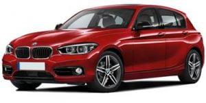 BMW 1-series F20 2012-Present Hatchback TPE Boot Liner