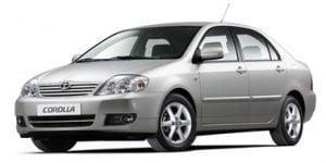 Toyota Corolla 2002-2007 Sedan TPE Boot Liner