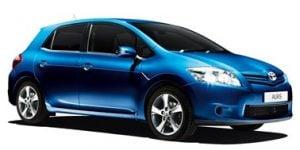 Toyota Auris 2007-2013 Hatchback TPE Boot Liner