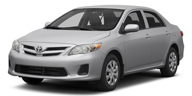 Toyota Corolla 2007-2013 Sedan TPE Boot Liner (BEIGE)