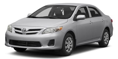 Toyota Corolla 2007-2013 Sedan TPE Boot Liner (BLACK)