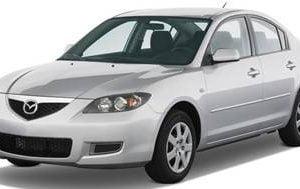 Mazda 3 2009-2013 Sedan TPE Boot Liner