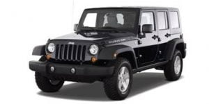 Jeep Wrangler 4 doors 2007-2017 TPE Boot Liner