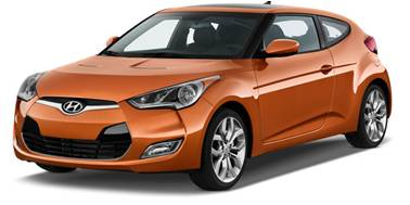 Hyundai Veloster 2013-Present Coupe TPE Boot Liner