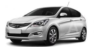 Hyundai Accent 2010-2018 Hatchback TPE Boot Liner