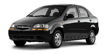 Chevrolet Aveo 2004-2012 Sedan TPE Boot Liner