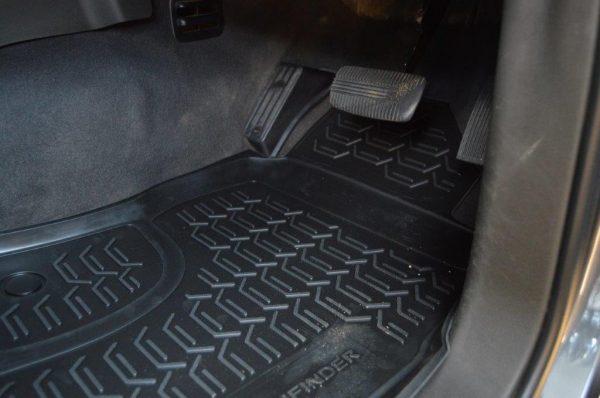 Nissan Pathfinder 2005-2016 SUV TPE Floor Liners