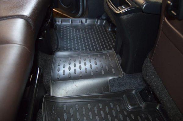 Toyota Fortuner Auto 2016-Present TPE Floor Liners