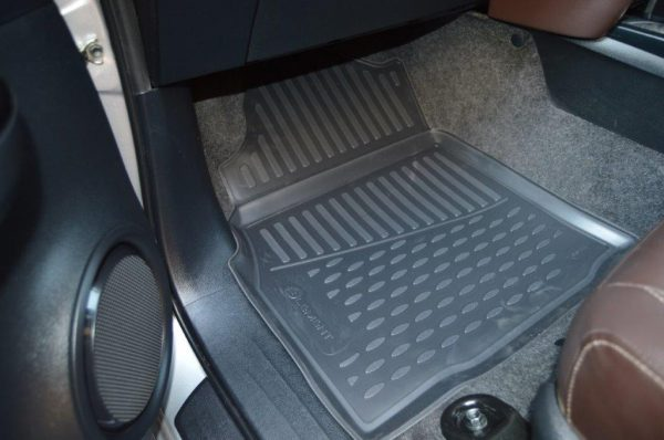 Toyota Hilux D/C Manual 2016-Present TPE Floor Liners
