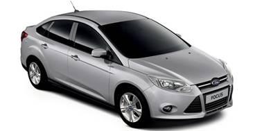 Ford Focus 3 2011-Present Sedan TPE Boot Liner