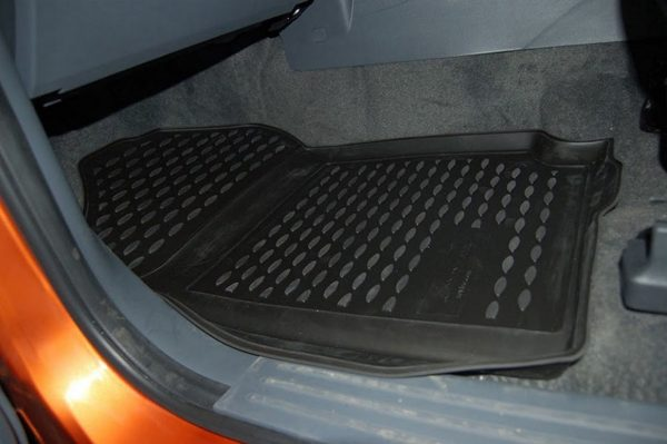 Ford Ranger T6 D/C 2011-Present TPE Floor Liners