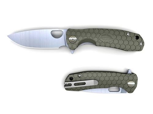 HONEY BADGER Flipper Medium (Green)