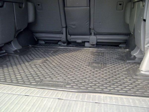 Toyota Land Cruiser 200 VX 2007-Present 7-seater TPE Boot Liner (BLACK) 2pcs