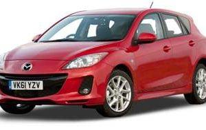 Mazda 3 2009-2013 Hatchback TPE Boot Liner