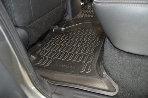 Nissan NAVARA D23 2016-Present TPE Floor Liners