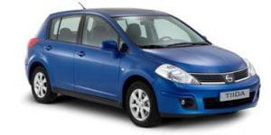 Nissan Tiida 2004-2012 Hatchback TPE Boot Liner