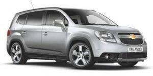 Chevrolet Orlando 2011-Present TPE Boot Liner