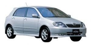 Toyota Corolla 2002-2007 Hatchback / RunX TPE Boot Liner