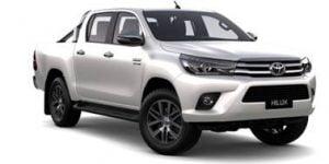 Toyota Hilux D/C Manual 2016-Present TPE Floor Liners