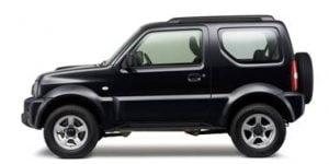 Suzuki Jimny 2001-2018 TPE Boot Liner