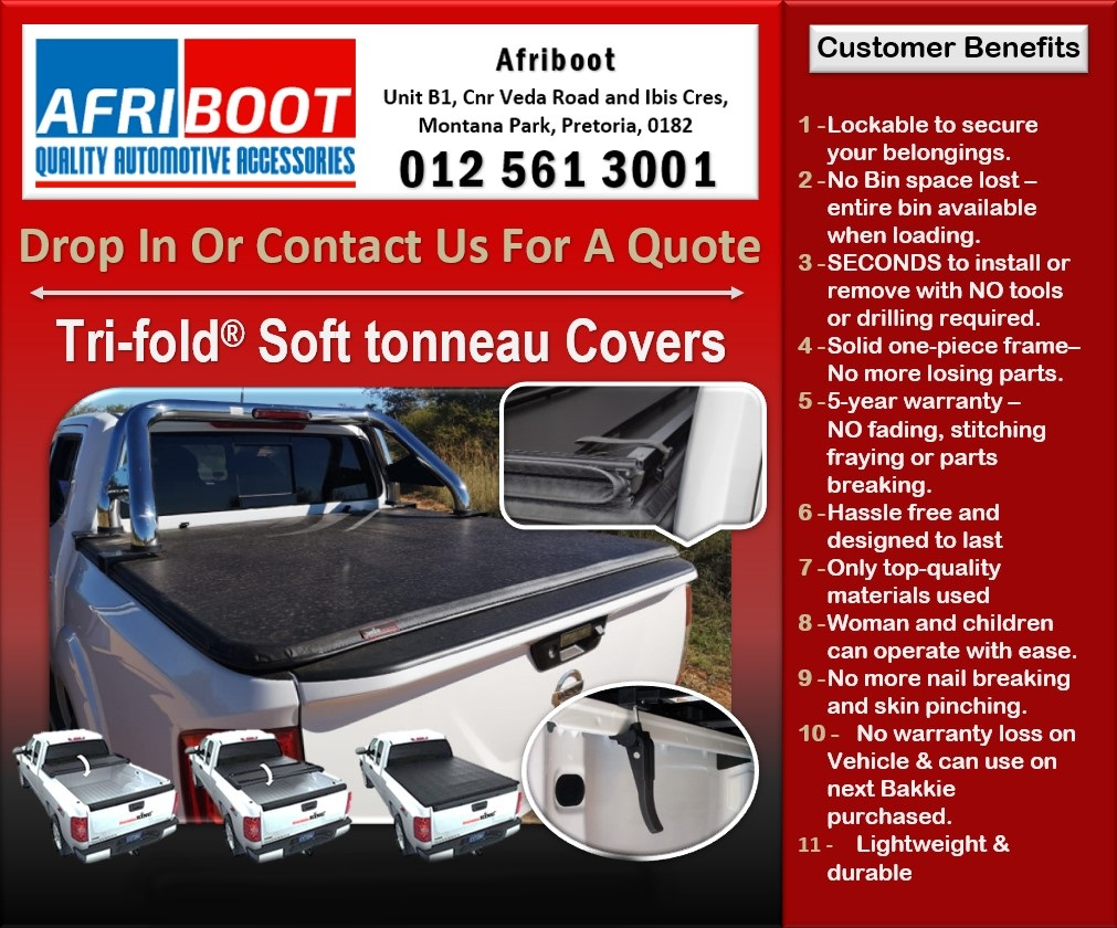 Soft Tri-fold® Tonneau Covers