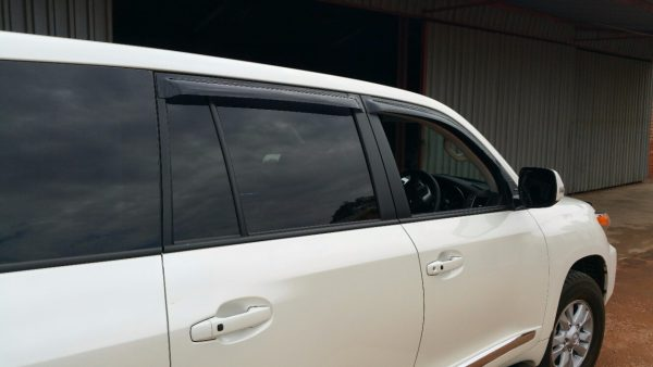TOYOTA Land Cruiser 200 Door Visors (Dark)