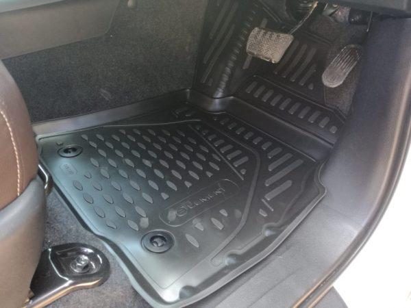 Toyota Hilux D/C Auto 2016-Present TPE Floor Liners