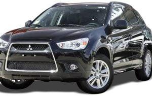 Mitsubishi ASX 2010-Present SUV TPE Boot Liner