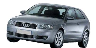 Audi A3 3 Door 2007-2013 Hatchback TPE Boot Liner