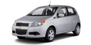 Chevrolet Aveo 5 Door 2004-2012 Hatchback TPE Boot Liner