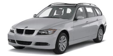 BMW 3 Touring E91 2006-2012 Sedan TPE Boot Liner