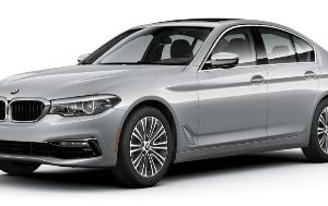 BMW 5 Series G30 2017-Present Sedan TPE Boot Liner