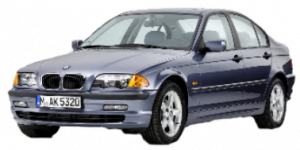 BMW 3-Series E46 1998-2005 Sedan TPE Boot Liner