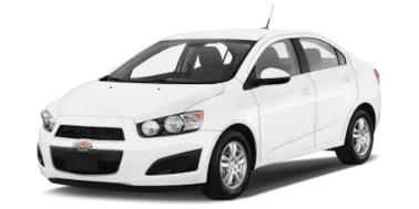 Chevrolet Aveo 2012-Present Sedan TPE Boot Liner