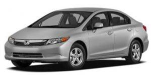 Honda Civic 2012-Present Sedan TPE Boot Liner