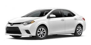 Toyota Corolla 2013-2018 Sedan TPE Boot Liner