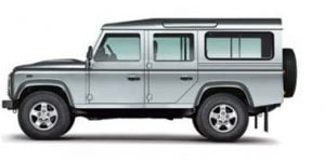Land Rover Defender 110 5D 2007-Present SUV TPE Boot Liner
