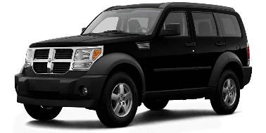 Dodge Nitro 2007-2012 SUV TPE Boot Liner