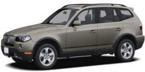 BMW X3 E83 2008-2010 TPE Boot Liner