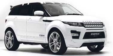 Land Rover Range Rover Evoque 2011-Present SUV (with an adaptive mounting system) TPE Boot Liner