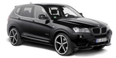 BMW X3 F25 2010-2016 TPE Boot Liner