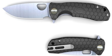 HONEY BADGER Flipper Large (Black)