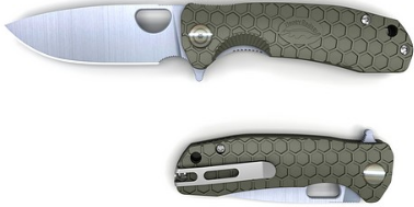 HONEY BADGER Flipper Small (Green)