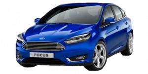 Ford Focus 3 2011-2015 Hatchback TPE Boot Liner