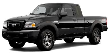Ford Ranger 2007-2011 TPE Floor Liners