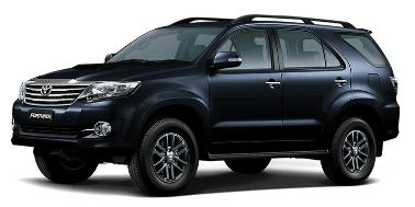 Toyota Fortuner 2006-2016 TPE Floor Liners (GREY)
