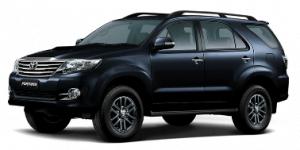 Toyota Fortuner 2006-2016 TPE Floor Liners (BLACK)