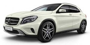 Mercedes-Benz GLA-Class 2015-Present TPE Boot Liner