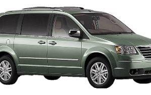 Chrysler Grand Voyager RT 2008-Present TPE Boot Liner