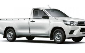 Toyota Hilux S/C Manual 2016-Present TPE Floor Liners